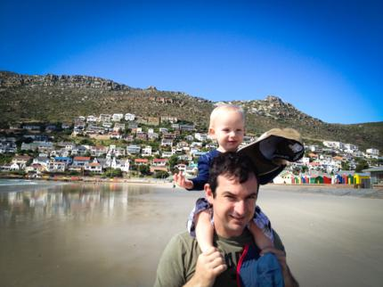 fish hoek beach, woolhogs